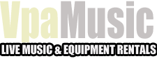 VPA MUSIC & EQUIPMENT RENTALS