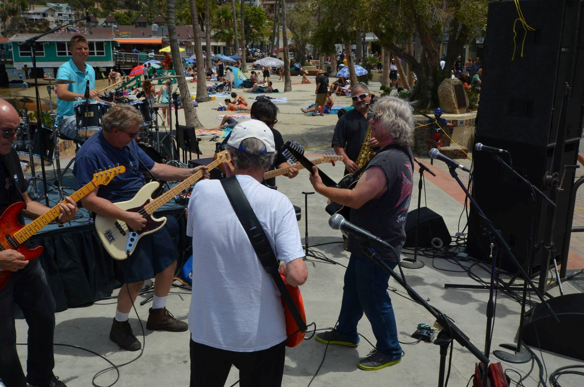 Spencer Davis and The Island Time Band 2014