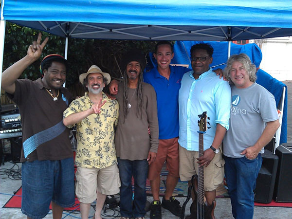 Calvin Banks and the Tellers with Vern Dockside 2014