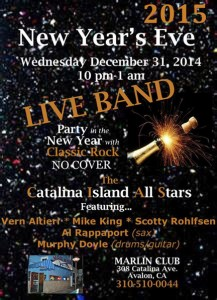 New Years Eve at the Marlin 2015