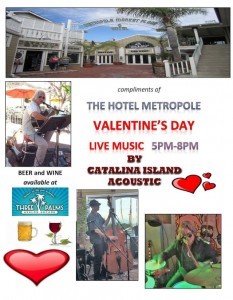 Valentines Day 2015 at the Metropole Marketplace with Vern Altieri, Butch Azevedo and Kent Garwick